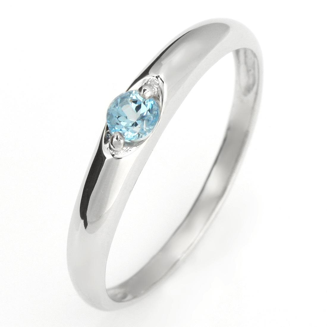 ペアリング 結婚指輪 マリッジリング プラチナ リング ブルートパーズ 11月 誕生石【DEAL】