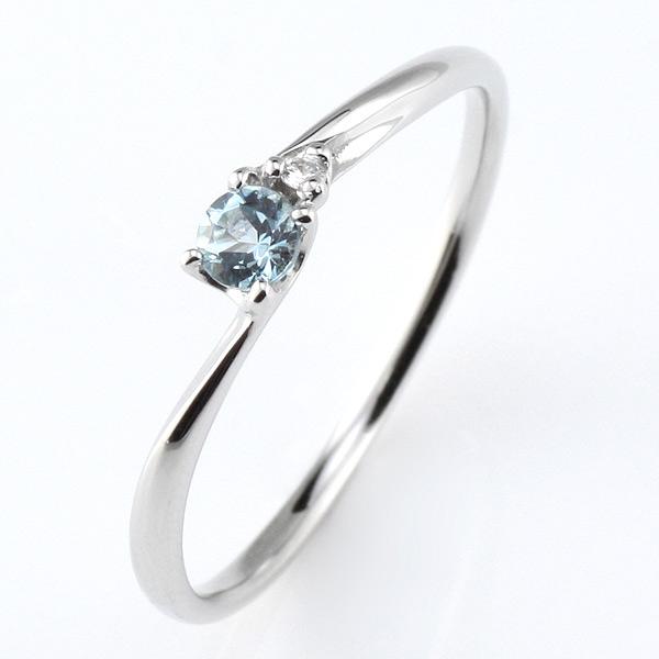 プラチナ リング アクアマリン アクアマリン 3月 誕生石 プラチナ リング 指輪【DEAL】