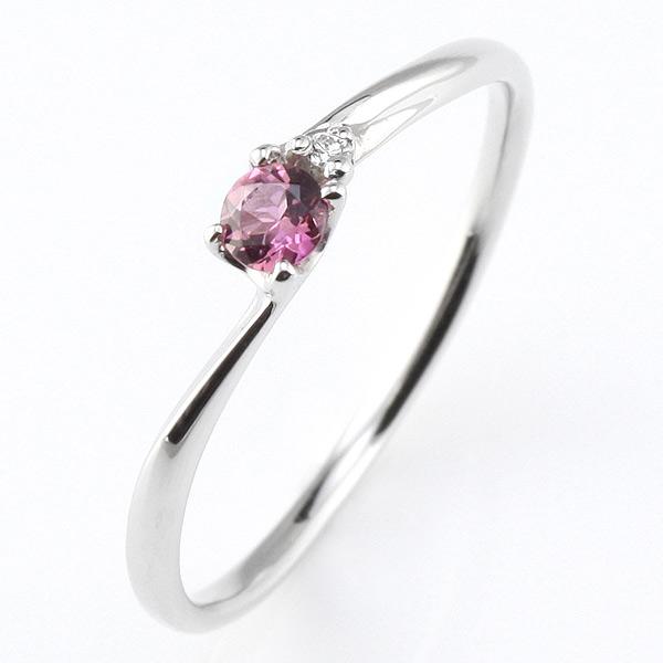 プラチナ リング 10月誕生石 ピンクトルマリン 10月 誕生石 プラチナ リング 指輪【DEAL】