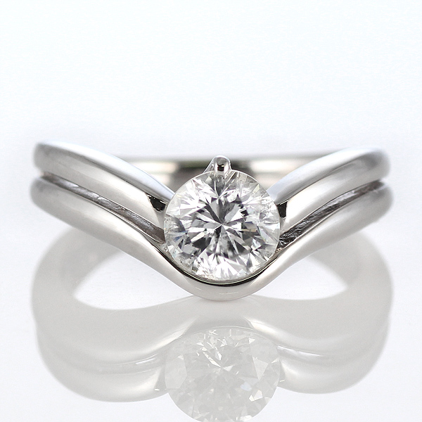 ダイヤモンドリング 1ct 1カラット プラチナリング エンゲージリング 婚約指輪 一粒 大粒 結婚記念 結婚10周年 サプライズ ギフト プレゼント 退職記念 鑑別書付