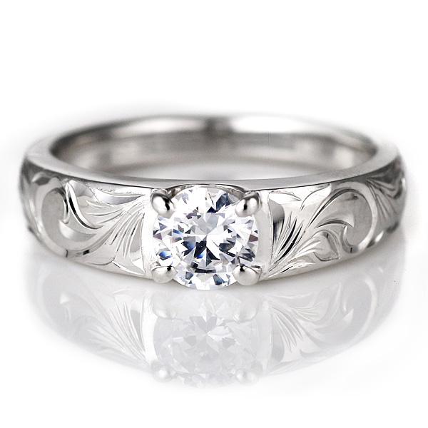 有夏威夷人珠寶鑒別書的夏威夷人白金鑽石戒指1粒大顆粒戒指白色合金K18夏威夷人環18錢列車時間表筆直