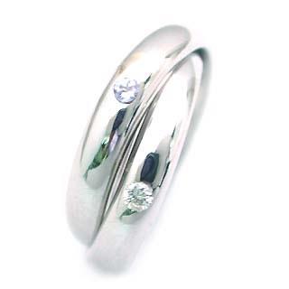 タンザナイト ( 12月誕生石 ) K18WG タンザナイト・ダイヤモンド2連リング
