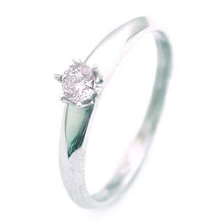 ダイヤモンド ダイヤ ( 4月誕生石 ) K18WG ダイヤモンドデザインリング【DEAL】