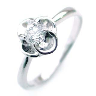 ( K18WG )ダイヤモンドリング