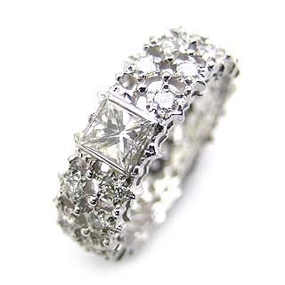 ( Brand Jewelry ASPIRARE ) Pt ダイヤモンドリング 【DEAL】