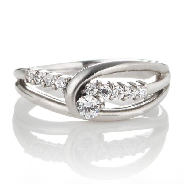 ダイヤモンド プラチナ ダイヤモンド リング