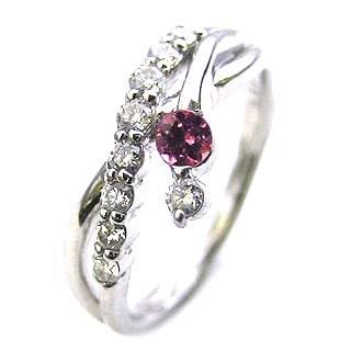 10月誕生石 ダイヤモンド リング プラチナ ダイヤモンド リング ダイヤモンド 10月 誕生石 ピンクトルマリン ラッピング無料