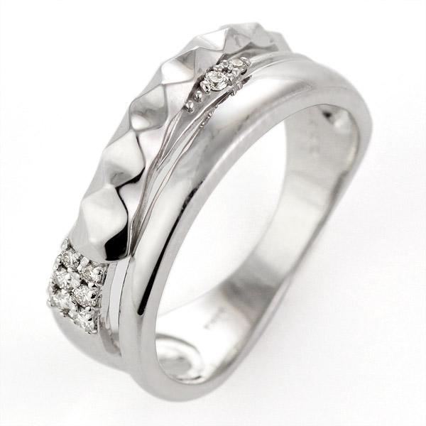 リング メンズ プラチナ900 ダイヤモンド【DEAL】 末広 スーパーSALE【今だけ代引手数料無料】