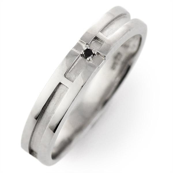 リング メンズ ホワイトゴールド 18金 K18 18k ダイヤモンド【DEAL】