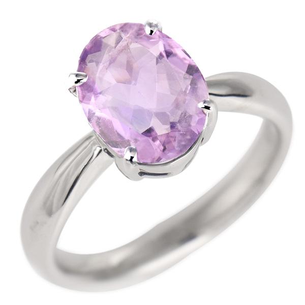 アメジスト リング プラチナ 2月 誕生石 指輪