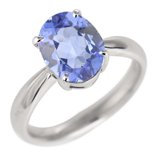 タンザナイト リング プラチナ 12月 誕生石 指輪