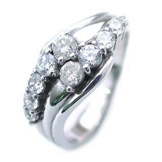 ダイヤモンド リング エタニティ スイート エタニティ ダイヤモンド 10 個 プラチナ ダイヤモンドリング 結婚 10周年記念【DEAL】
