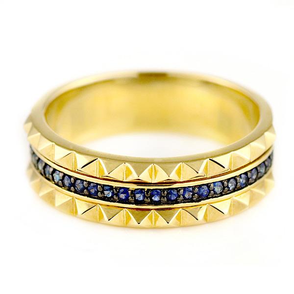 リング メンズ メンズリング メンズ リング 指輪 K18イエローゴールド