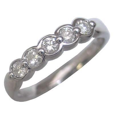K18ホワイトゴールドダイヤモンドリング【DEAL】 末広 スーパーSALE【今だけ代引手数料無料】