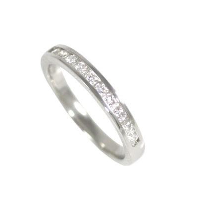 プラチナ900 ダイヤモンドエタニティリング