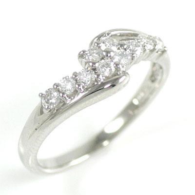 結婚10周年記念 プラチナ ダイヤモンドリング 【DEAL】