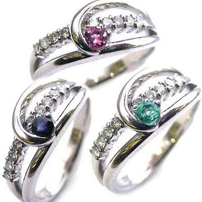 結婚10周年記念 プラチナダイヤモンドリング
