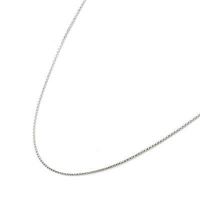 K18ホワイトゴールドデザインネックレス 【DEAL】
