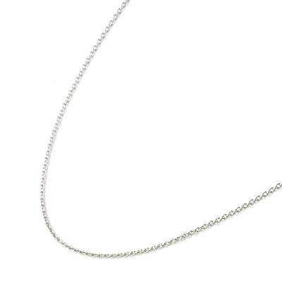 K18ホワイトゴールドデザインネックレス 【DEAL】 末広 スーパーSALE