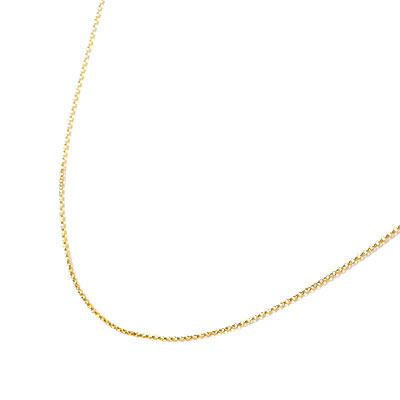 イエローゴールド YG K18イエローゴールドデザインネックレス
