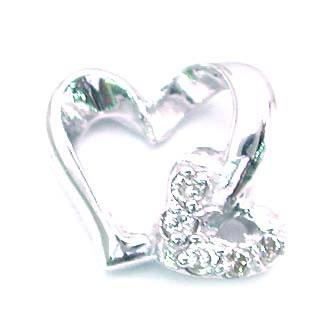 ( K18WG )ダイヤモンドペンダントトップ【DEAL】