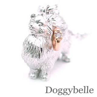 ( 4月誕生石 ) SV K10ダイヤモンドネックレス(ポメラニアン) 犬 【DEAL】