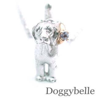 ( 12月誕生石 ) SV K10タンザナイトネックレス(ビーグル) 犬