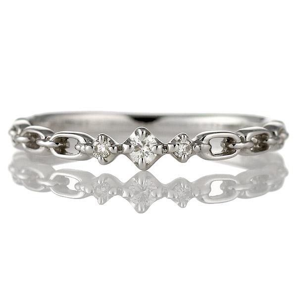 リング ダイヤモンド K18 ホワイトゴールド 18金 ダイヤ プレゼント プレゼント 末広 スーパーSALE