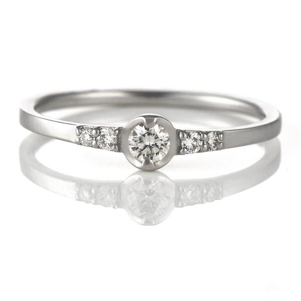 リング ダイヤモンド プラチナ ダイヤ シンプル 人気 末広 スーパーSALE