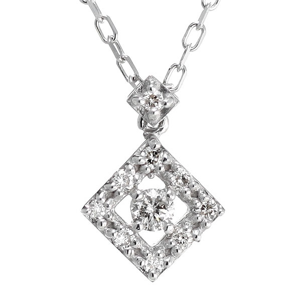 スイート エタニティ ダイヤモンド 10 個 ダイヤモンド ネックレス ダイヤモンド 結婚 10周年記念