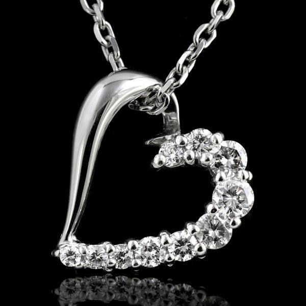 【レビュー高評価】ネックレス ダイヤモンド 0.17ct レディース ダイヤモンドネックレス ネックレス レディース ホワイトゴールド 10粒 ダイヤネックレス 結婚10周年 スイート エタニティ NECKLACE NECKLACE -QP
