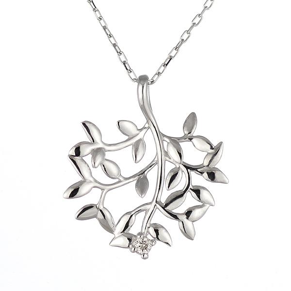 ネックレス 一粒 ダイヤモンド ネックレス ダイヤモンドネックレス ホワイトゴールド 末広 スーパーSALE