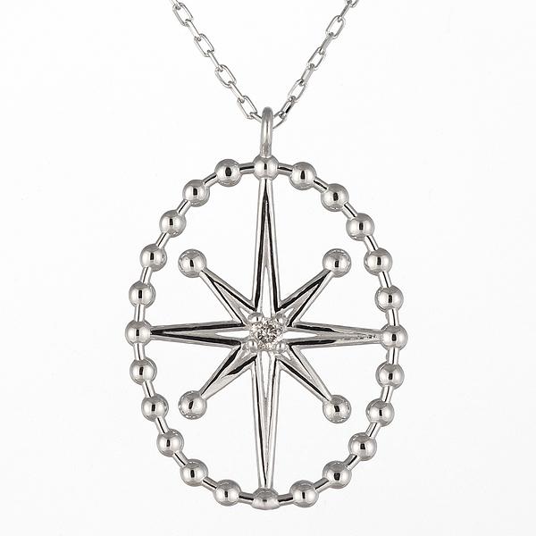 ネックレス 一粒 ダイヤモンド ネックレス ダイヤモンドネックレス ホワイトゴールド-QP【あす楽対応!!】【DEAL】