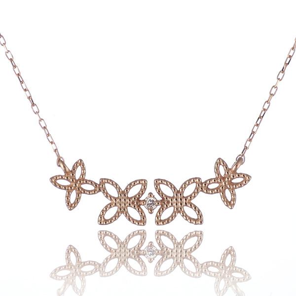 ネックレス 一粒 ダイヤモンド ネックレス ダイヤモンドネックレス ピンクゴールド【DEAL】