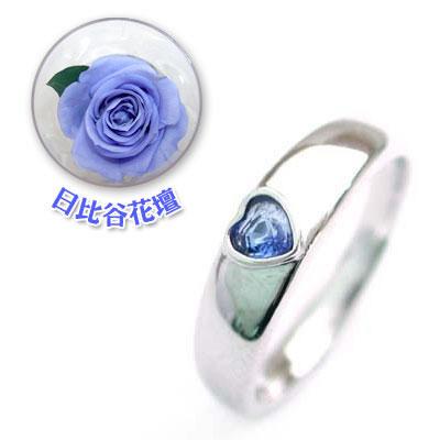結婚指輪・マリッジリング・ペアリング( 9月誕生石 )サファイアCanCam掲載(母の日 限定 日比谷花壇誕生色バラ付)