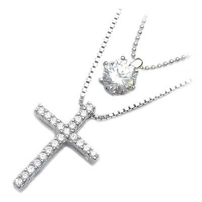 ( Brand Jewelry me. ) シルバー925・プラチナコーティングペンダントネックレス【DEAL】