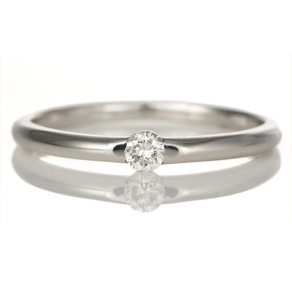 プラチナ900 ハードプラチナ ダイヤモンド リング