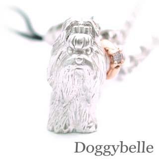 ( 4月誕生石 ) SV K10ダイヤモンド入り携帯ストラップ(シーズー) 犬 【DEAL】 末広 スーパーSALE
