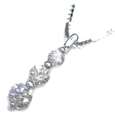 ( 4月誕生石 ) K18ホワイトゴールドダイヤモンドペンダントネックレス【DEAL】 末広 スーパーSALE【今だけ代引手数料無料】