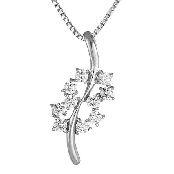 スイート エタニティ ダイヤモンド 10 個 K18ホワイトゴールド ダイヤモンドペンダントネックレス 結婚 10周年記念 DEAL 末広 スーパーSALE 今だけ代引手数料無料 米寿祝 年越し 割引セール
