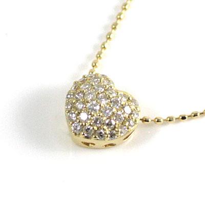 K18ゴールド ダイヤモンドペンダントネックレス 【DEAL】