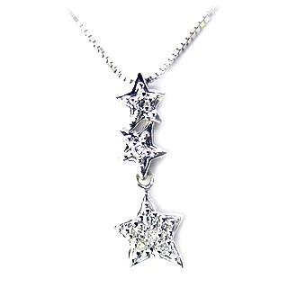 ( K18WG ) ダイヤモンドネックレス【DEAL】