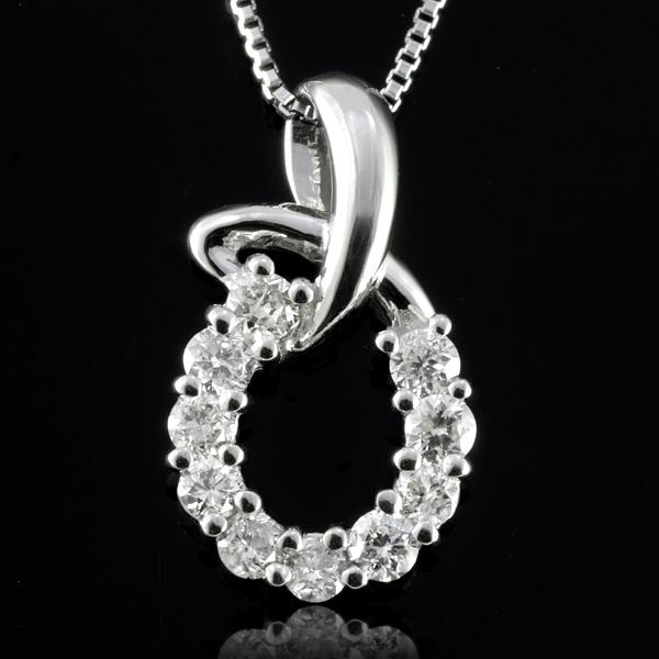 プラチナ ネックレス Necklace プラチナ ダイヤモンド プラチナ ペンダントネックレス プラチナ -QP 結婚 10周年記念
