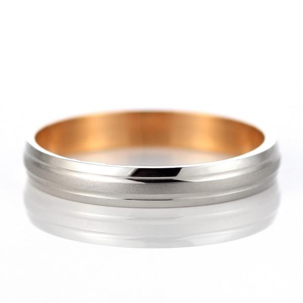 プラチナ ピンクゴールド 結婚指輪 マリッジリング ペアリング 23号~ 特注サイズ 大きいサイズ