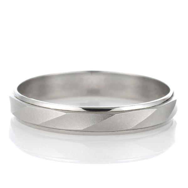 プラチナ 結婚指輪 マリッジリング ペアリング つや消し 23号~ 特注サイズ 大きいサイズ