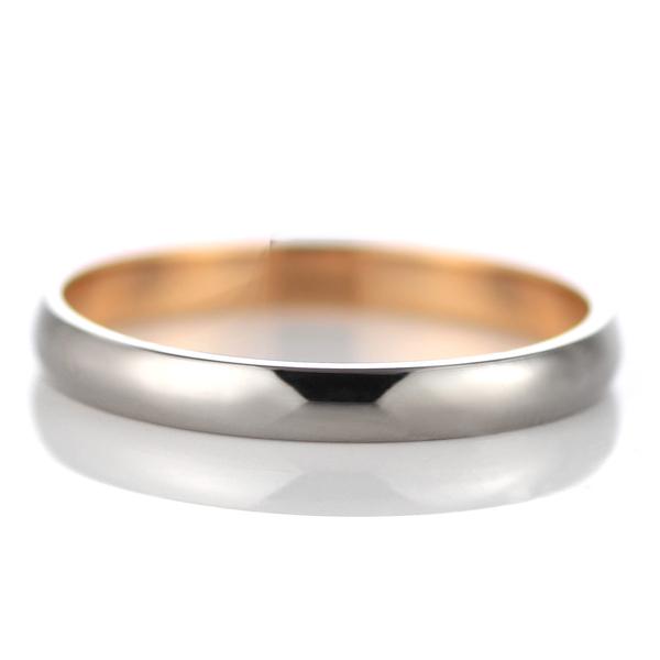 メンズリング マリッジリング 結婚指輪 ゴールド ペア ペアリング ♪ ホワイトゴールド ピンクゴールド 18K ブライダルジュエリー ブライダルリング ブライダル 結婚式 指輪 リング 【 ラッピング無料 !!】