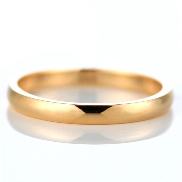 ピンクゴールド 結婚指輪 マリッジリング ペアリング 18金
