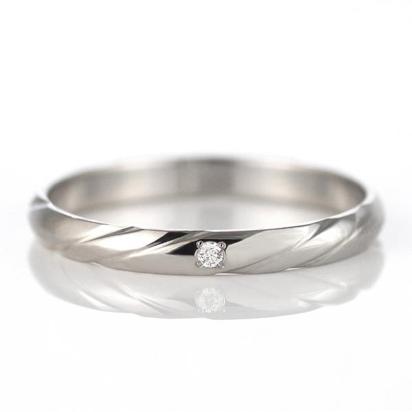 ペアリング プラチナ ラッピング無料 結婚指輪 マリッジリング ペアリング プラチナ ダイヤモンド