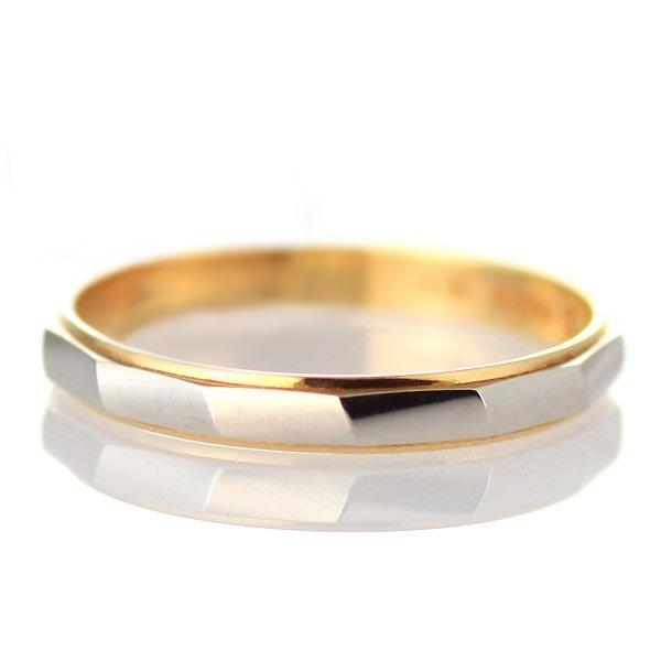 メンズリング 結婚指輪 マリッジリング プラチナ ペアリング ♪【 イニシャル刻印 ★ ラッピング無料 】 イニシャル入り ゴールド プラチナリング 結婚 ブライダルジュエリー として 人気 ペア リング 指輪