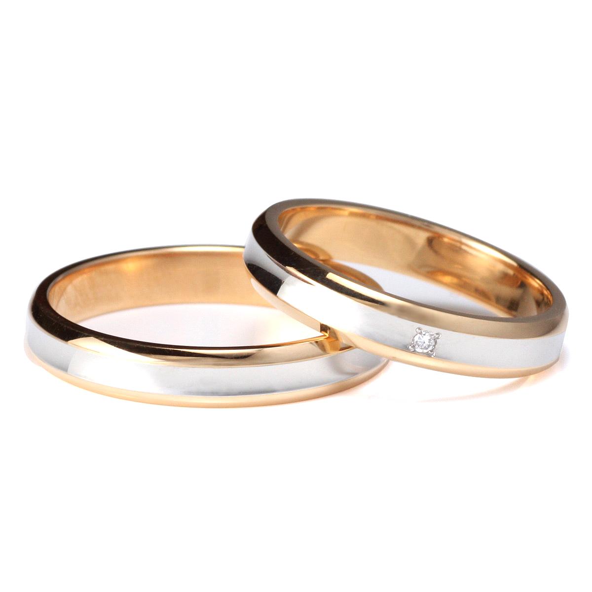 【今だけエントリーで全品5倍!5/18まで限定!】ラッピング無料 結婚指輪 マリッジリング ペアリング ダイヤモンド